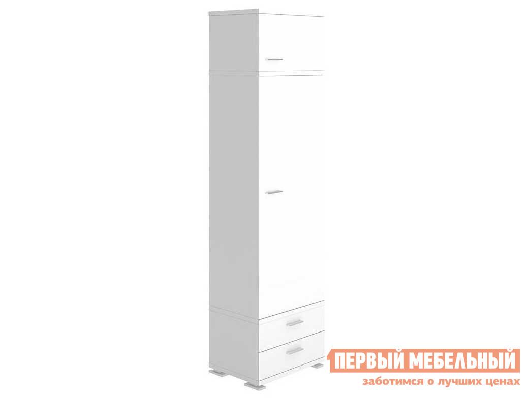 Шкаф распашной  КС-10 Белый жемчуг, Без полок