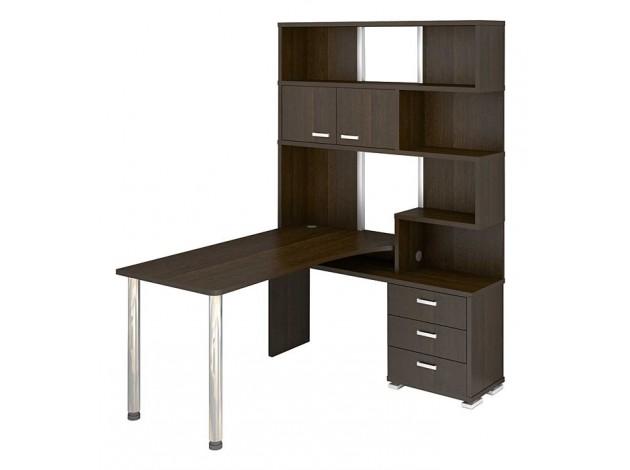 Мэрдэс Компьютерный стол мэрдэс сд-15, 120х60х125,1 см, белый жемчуг, нельсон,~(G-FGHE-JR)