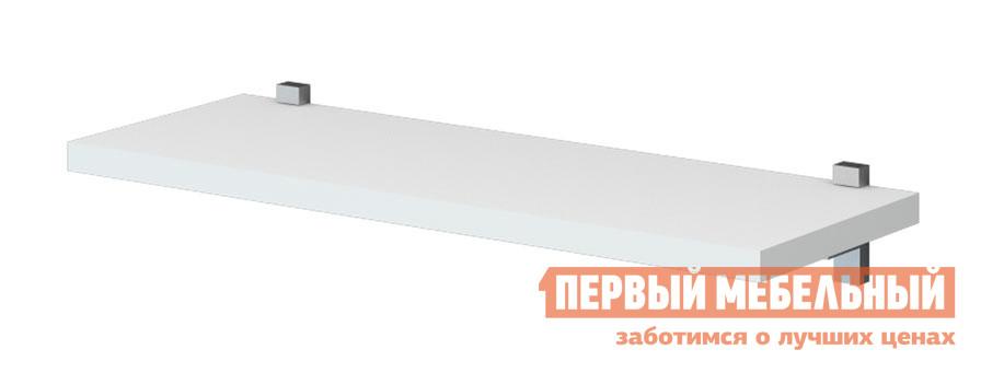 Настенная полка Мэрдэс ПК-1 Белый жемчуг