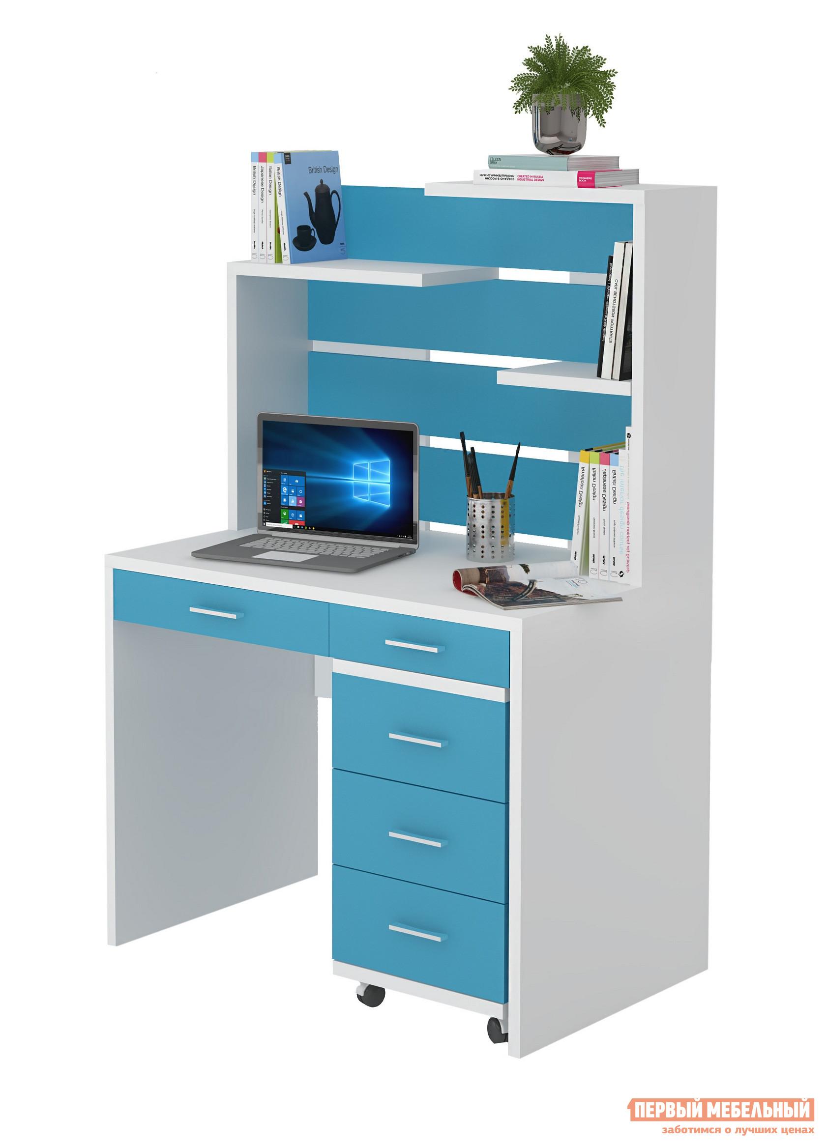 Компьютерный стол детский Мэрдэс СП-22-СП-22Н+ТС-2