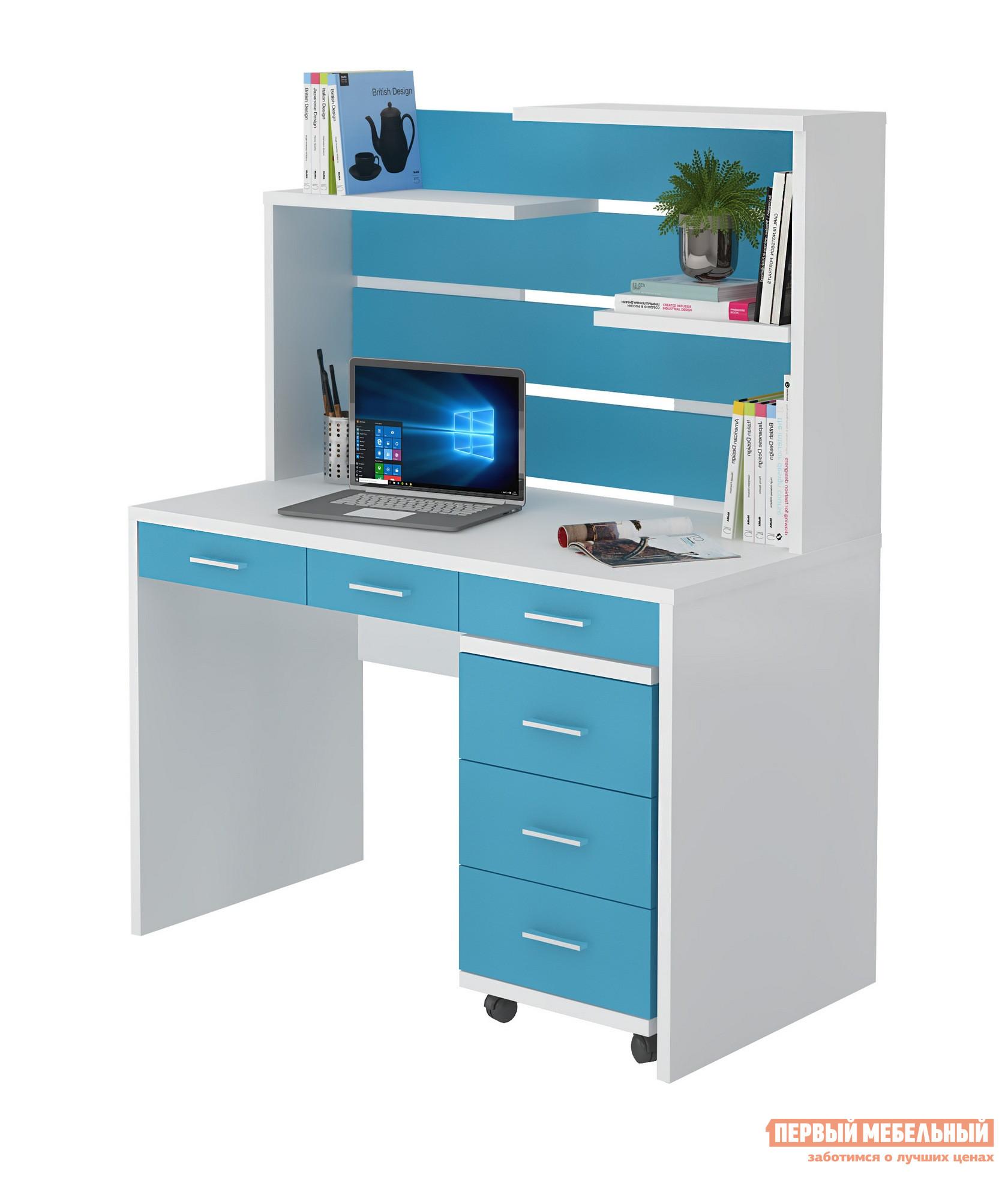 Компьютерный стол детский Мэрдэс СП-32С+СП-32Н+ТС-2