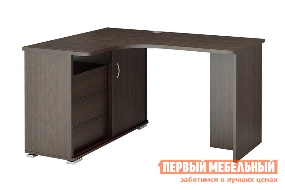 Компьютерный стол Мэрдэс СР-145С Правый, ВенгеКомпьютерные столы<br>Габаритные размеры ВхШхГ 745x1400x1160 мм. Такая модель углового компьютерного стола не может не привлечь внимание.  Она отличается всеми составляющими, необходимыми для практичности и функциональности предметов мебели данного назначения. Прежде всего, параметры столешницы — 1400 мм — позволяют свободно расположить на ней компьютер и разложить нужные бумаги для работы или учебы.  При этом, вы не будете чувствовать себя стесненно. В комплектацию также входит вместительная тумба с тремя выдвигающимися ящиками и нишей с дверцей-купе.  Ящики выдвигаются при нажатии на них, что является одной из современных тенденций мебели. Внутренний размер ящиков составляет — 446 х 254 мм, что позволит хранить в них документы формата А4 и канцелярские принадлежности. Изделие изготовлено из высококачественного ламинированного ДСП российского производства.  Толщина столешницы, боковых стоек и полок - 16 мм, кромка ПВХ - 2 мм.<br><br>Цвет: Венге<br>Цвет: Венге<br>Высота мм: 745<br>Ширина мм: 1400<br>Глубина мм: 1160<br>Кол-во упаковок: 4<br>Форма поставки: В разобранном виде<br>Срок гарантии: 12 месяцев<br>Тип: Угловые<br>Материал: Деревянные, из ЛДСП<br>Размер: Большие<br>Особенности: Без надстройки, С тумбой