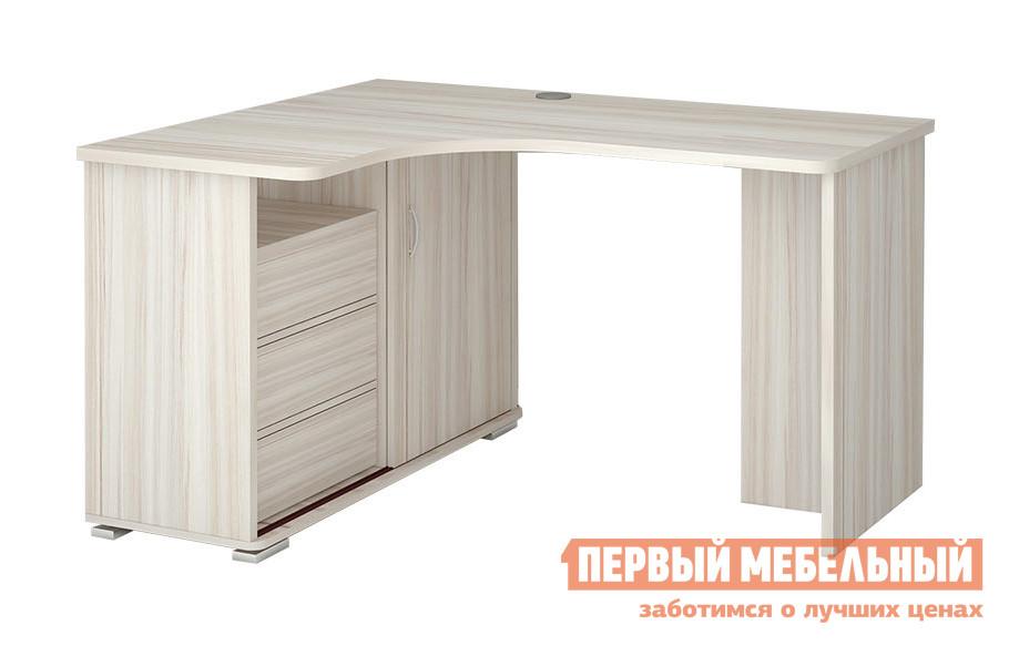 Компьютерный стол Мэрдэс СР-145С Левый, Венге, Карамель