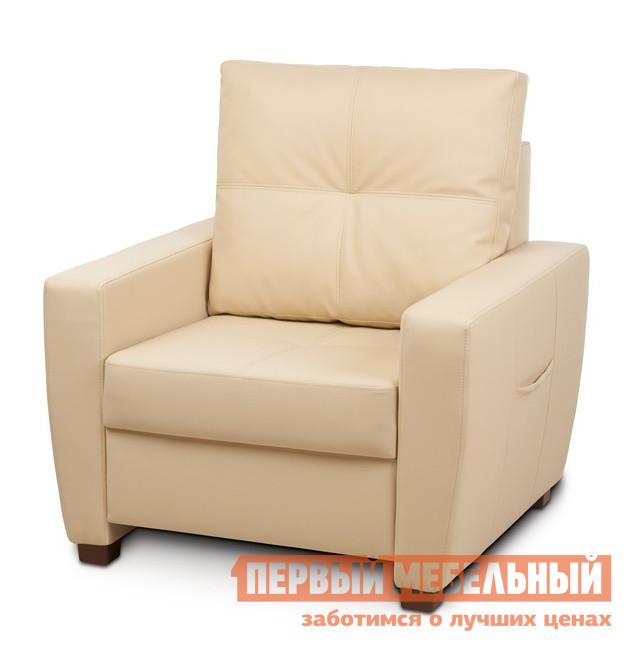 Кресло Вентал Кресло Амстердам Бежевый Oregon 12 (кожзам) от Купистол