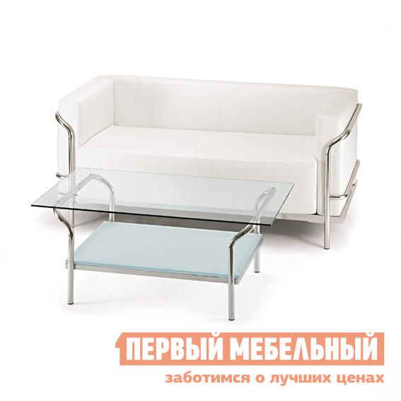 Диван офисный ПрофОфис MYKONOS Диван 2 мест кожа+кожз диван офисный профофис mykonos кресло кожа кожзам