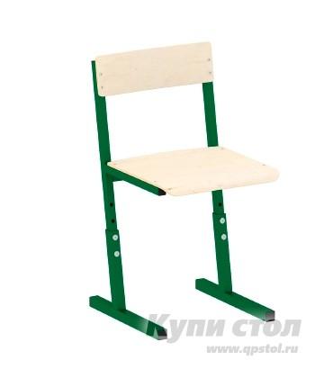 Детский стул Витал Стул ученический регулируемый гр. 3-5, 5-7 Каркас зеленый, Высота 34-42 см