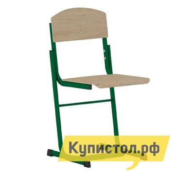 Детский стул Витал Стул ученический регулируемый гр.3-5, 4-6, 5-7 Каркас зеленый, Высота 38-46 см