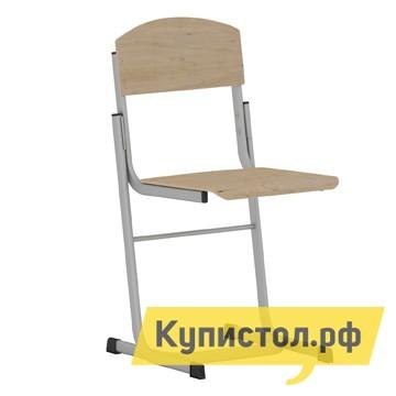 Детский стул Витал Стул ученический регулируемый гр.3-5, 4-6, 5-7 Каркас серый, Высота 38-46 см