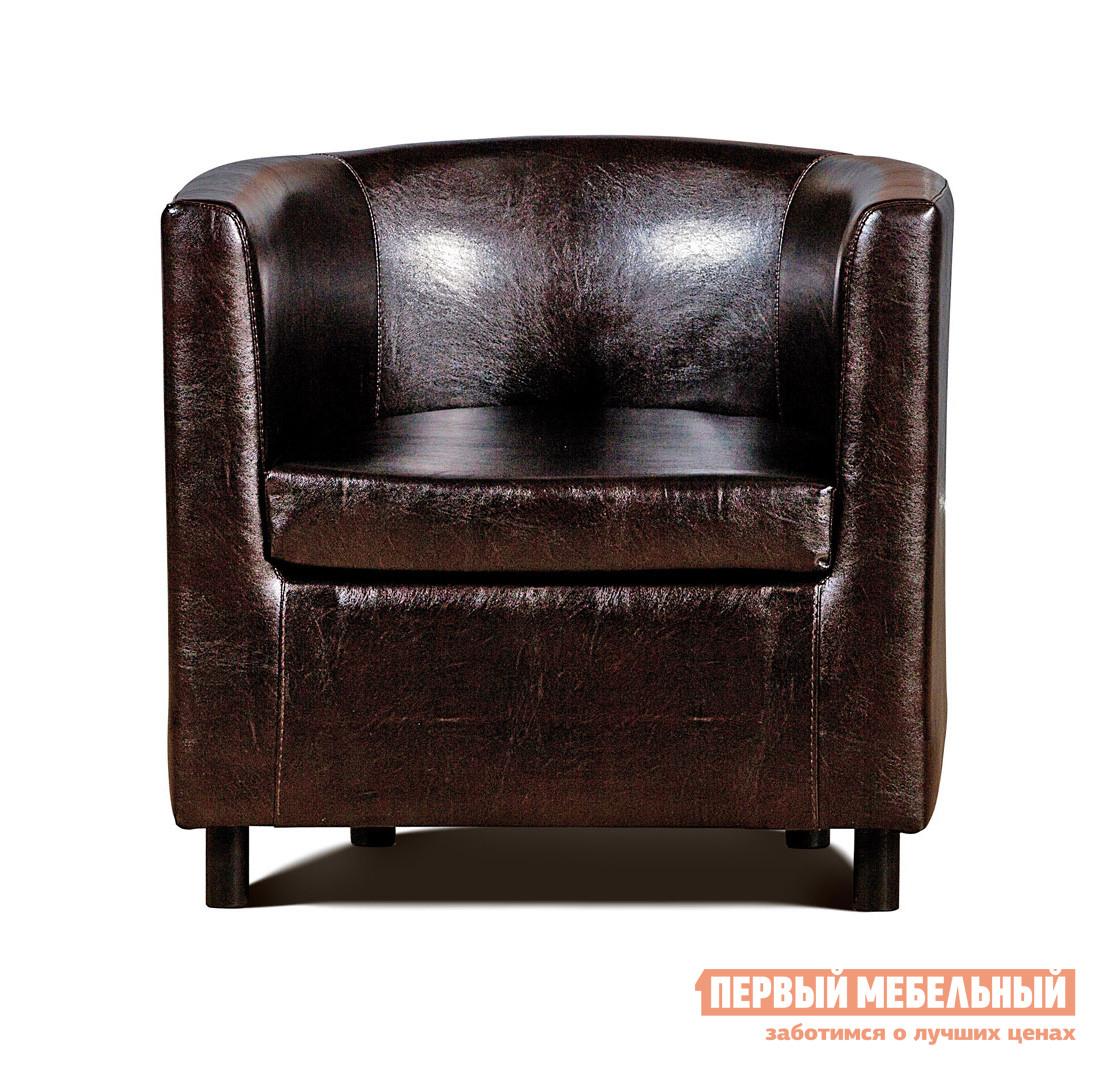 Кресло СМК Дисо 3 042.08 1х К/З Рекс 320 корич от Купистол