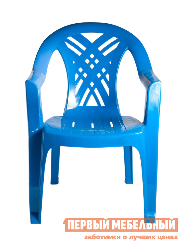 Пластиковый стул Стандарт Пластик Кресло №6 Престиж-2 (660x600x840мм) СинийПластиковые стулья<br>Габаритные размеры ВхШхГ 840x660x600 мм. Пластиковое кресло Престиж исполнено в традиционном стиле.  Немонолитное оформление сидения и спинки кресла обеспечивает хорошую вентиляцию, благодаря этому в нем удобно сидеть даже в жаркую погоду.  Изделие оборудовано подлокотниками, их функциональное назначение – сделать пребывание в кресле максимально удобным и приятным. Высота изделия от пола до сиденья составляет 390 мм. Глубина сиденья составляет 380 мм. Ширина сиденья между подлокотниками в самом узком месте — 360 мм, в самом широком — 420 мм. Конструкция спроектирована таким образом, что несколько стульев очень удобно хранить в виде стопки.  Пластиковая мебель уникальна сочетанием таких качеств, как повышенная прочность (легко выдерживает нагрузку до 120 кг) и предельная легкость (чуть больше 2 кг).  Мебельные изделия демократичны, хорошо подходят для оформления дачи, зоны отдыха или летнего кафе.  Пластиковая мебель устойчива к перепадам температур и повышенной влажности.  Такая мебель станет верным союзником в комфортном и гармоничном отдыхе.<br><br>Цвет: Синий<br>Цвет: Синий<br>Высота мм: 840<br>Ширина мм: 660<br>Глубина мм: 600<br>Кол-во упаковок: 1<br>Форма поставки: В собранном виде<br>Срок гарантии: 1 год<br>Материал: Пластиковые<br>Особенности: С подлокотниками, Дешевые
