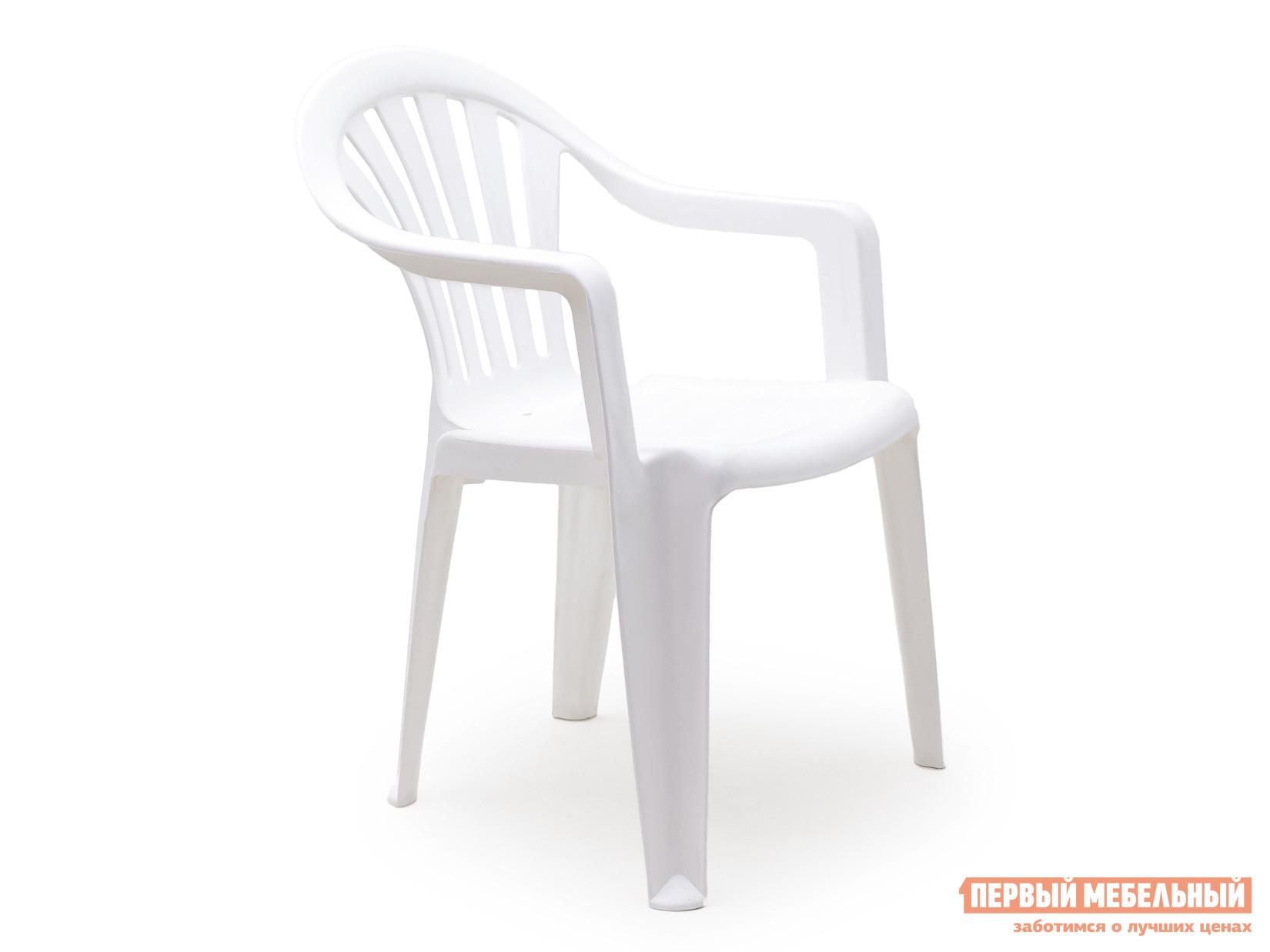 Пластиковый стул Стандарт Пластик Кресло №1 Пальма-1 (560х550х770мм) БелыйПластиковые стулья<br>Габаритные размеры ВхШхГ 770x560x550 мм. Пластиковое кресло Пальма исполнено в классическом стиле.  В таком кресле удобно будет сидеть даже в самую жаркую погоду, благодаря немонолитному оформлению спинки и сидения. Конструкция стула спроектирована таким образом, что несколько стульев очень удобно хранить в виде стопки.  Изделие оборудовано подлокотниками, их функциональное назначение – сделать пребывание в кресле максимально удобным и приятным. Высота изделия от пола до сиденья составляет 38 см. Пластиковая мебель уникальна сочетанием таких качеств, как предельная легкость (чуть больше 2 кг) и повышенная прочность (легко выдерживает нагрузку до 120 кг).  Мебельные изделия демократичны, хорошо подходят для оформления дачи, зоны отдыха или летнего кафе.  Пластиковая мебель не боится перепадов температур, повышенной влажности.  Такая мебель станет верным союзником в комфортном и гармоничном отдыхе.<br><br>Цвет: Белый<br>Высота мм: 770<br>Ширина мм: 560<br>Глубина мм: 550<br>Кол-во упаковок: 1<br>Форма поставки: В собранном виде<br>Срок гарантии: 1 год<br>С подлокотниками: Да