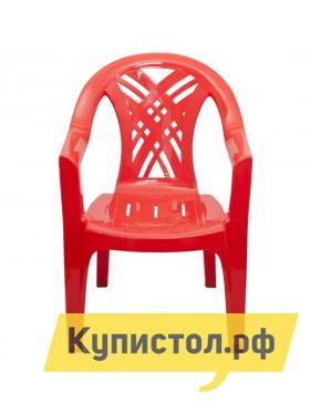 "Пластиковый стул Стандарт Пластик Кресло №6 ""Престиж-2"" (660x600x840мм) Красный от Купистол"
