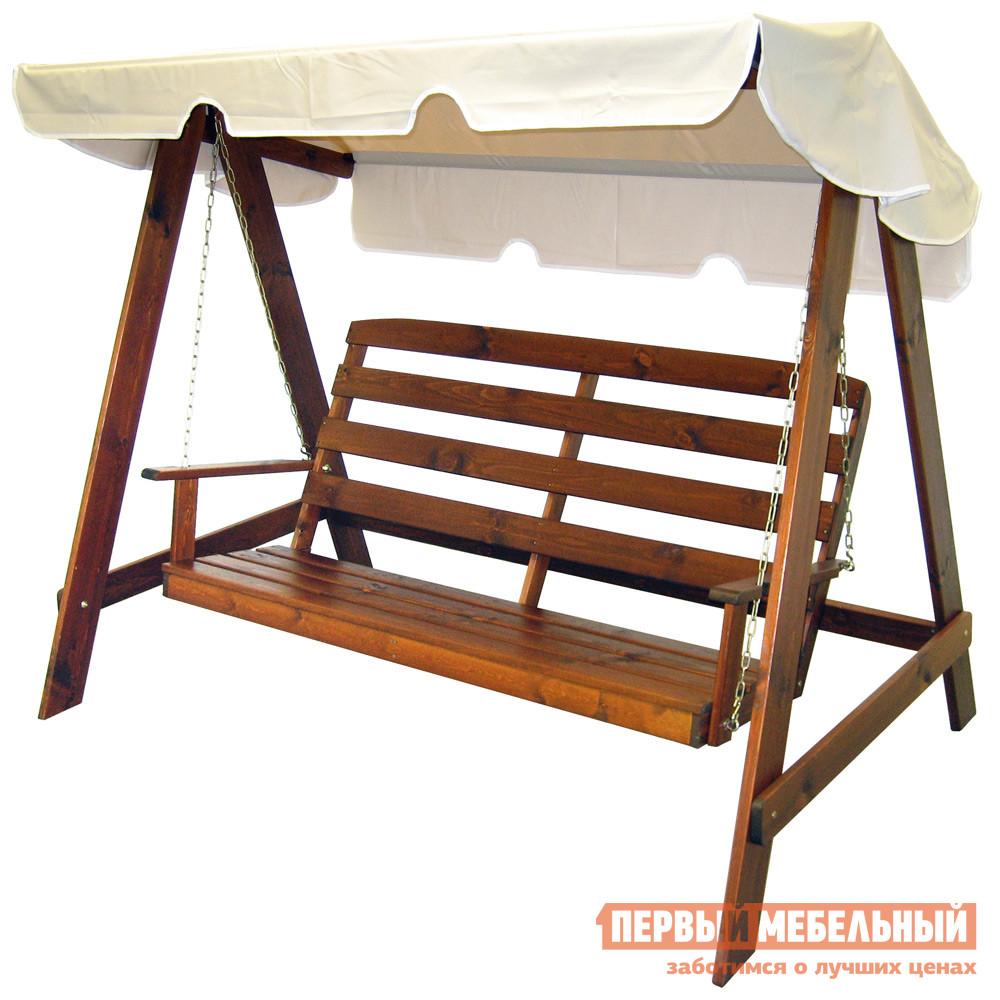 цена Деревянные качели для дачи Шведская линия 572022 Maja