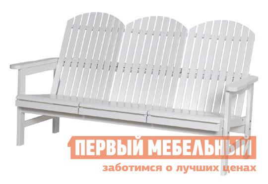 Садовая деревянная скамейка со спинкой Шведская линия 6606 Скамья Sandhamn цены