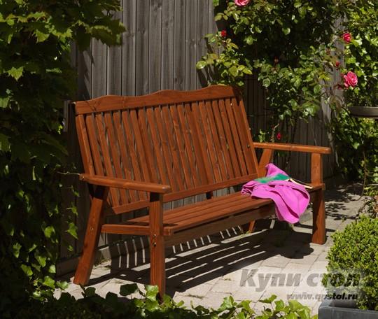 Деревянная скамейка 996022 КупиСтол.Ru 19320.000