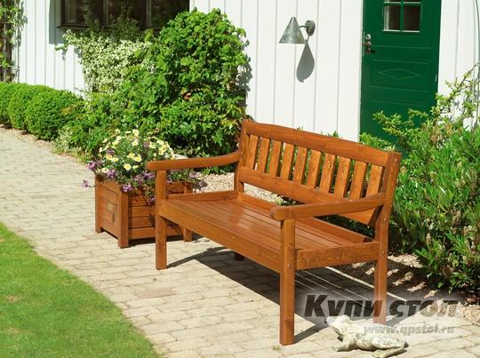 Деревянная скамейка 706022 КупиСтол.Ru