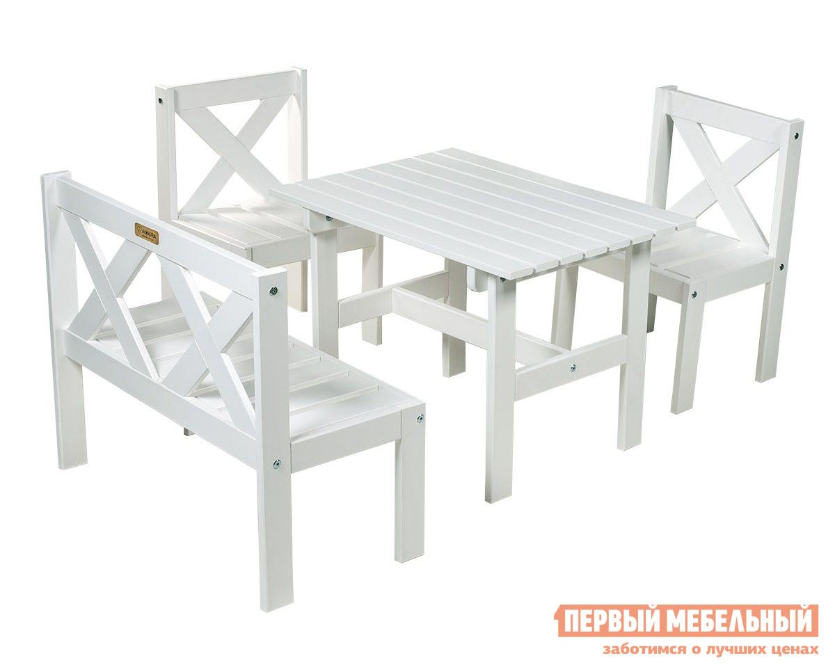 Детский комплект садовой мебели Шведская линия Milla 504041 / 504046