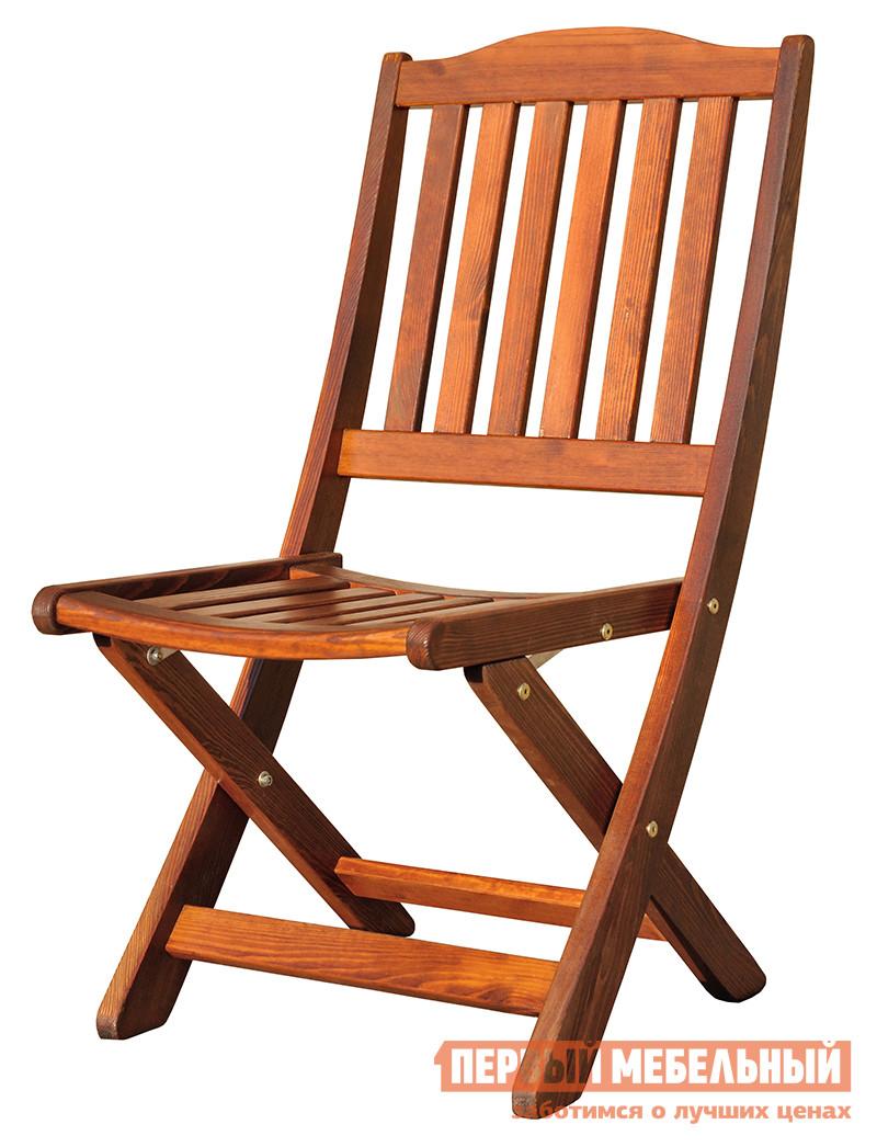 Садовое кресло Diva 165033 Lotos КоньякСадовые стулья и кресла<br>Габаритные размеры ВхШхГ 950x500x620 мм. У вас небольшой садовый домик и каждый сантиметр на счету? Обращаем ваше внимание на этот замечательный складной стул.  Помимо наличия удобного механизма трансформации, стул «165033 Lotos» сам по себе еще и очень удобен.  Его сиденье слегка изогнуто и расположено на удобной высоте 430 мм от пола, а высокая спинка будет хорошо поддерживать спину.  В конструкции, изготовленной из массива сосны, не предусмотрены подлокотники, что еще больше позволяет сэкономить место при размещении гостей или хранении стула в кладовке.<br><br>Цвет: Коричневое дерево<br>Высота мм: 950<br>Ширина мм: 500<br>Глубина мм: 620<br>Кол-во упаковок: 1<br>Форма поставки: В собранном виде<br>Срок гарантии: 1 год<br>Тип: Складные<br>Тип: Трансформер<br>Материал: Массив дерева<br>Порода дерева: Сосна<br>С жестким сиденьем: Да<br>Без подлокотников: Да