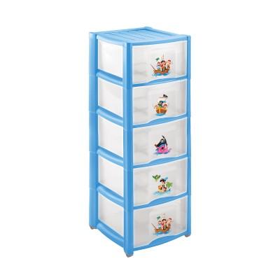 Комод детский Пластишка 4313429 Голубой