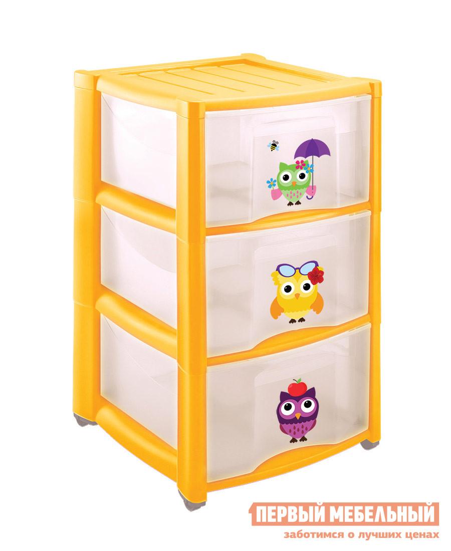 Комод детский Пластишка 4313428 ЖелтыйДетские комоды<br>Габаритные размеры ВхШхГ 600x390x370 мм. Яркий практичный комод для детской комнаты.  Модель понравится малышам благодаря красочным сюжетам с любимыми героями.  Комод имеет три ящика, в которых поместятся игрушки и детские вещи, его можно использовать как игровой элемент и научить малыша самому наводить порядок в комнате.  Комод дополнен колесиками для легкого и быстрого перемещения в пространстве. Изготавливается из полипропилена.<br><br>Цвет: Желтый<br>Цвет: Желтый<br>Высота мм: 600<br>Ширина мм: 390<br>Глубина мм: 370<br>Кол-во упаковок: 1<br>Форма поставки: В разобранном виде<br>Срок гарантии: 1 год<br>Назначение: Для игрушек<br>Материал: Пластиковые<br>Размер: Узкие<br>Особенности: С ящиками, На колесиках, с 3-мя ящиками, С рисунком