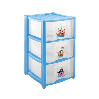 Комод детский Пластишка 4313428 Голубой