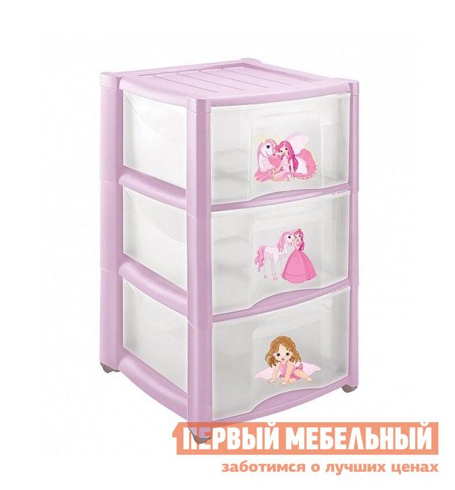 Комод Пластишка 4313428 Розовый от Купистол
