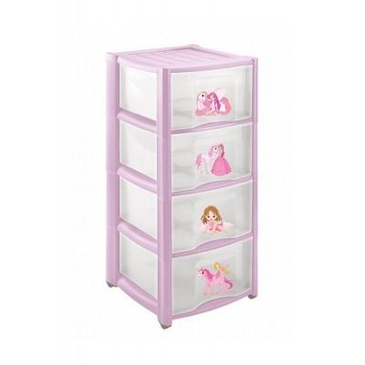 Комод детский Пластишка 4313425 Розовый