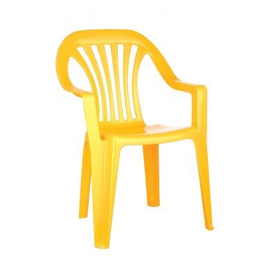 Столик и стульчик Пластишка 4312070 Желтый
