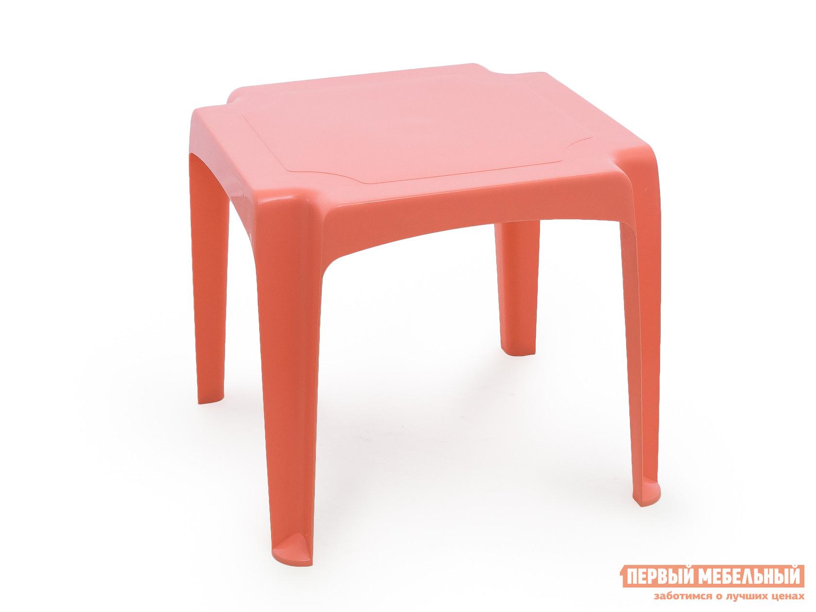 Столик и стульчик Пластишка 4313230 Коралловый