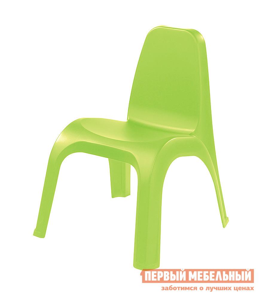 Фото Столик и стульчик Пластишка 4313601 Зеленый. Купить с доставкой
