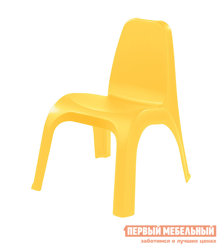Фото Столик и стульчик Пластишка 4313601 Желтый. Купить с доставкой