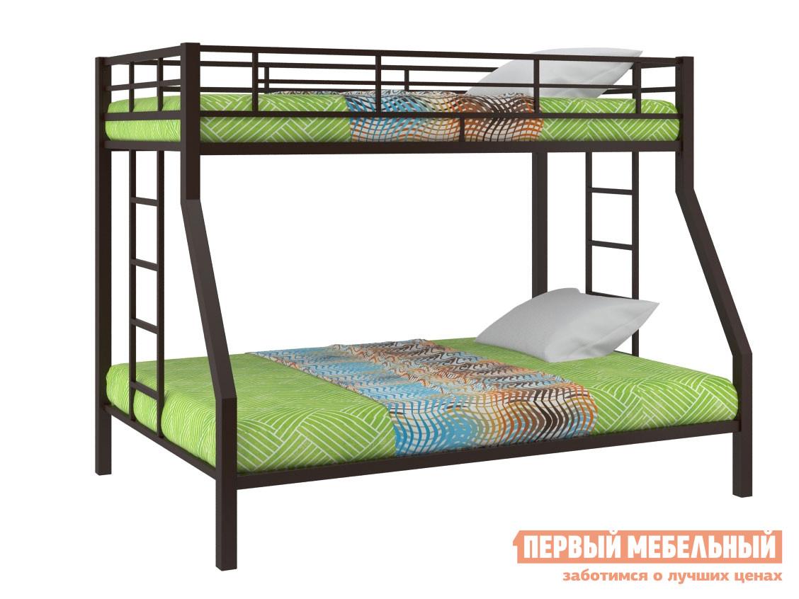 Кровать  Двухъярусная кровать Гранада Коричневый, Без ящика — Двухъярусная кровать Гранада Коричневый, Без ящика