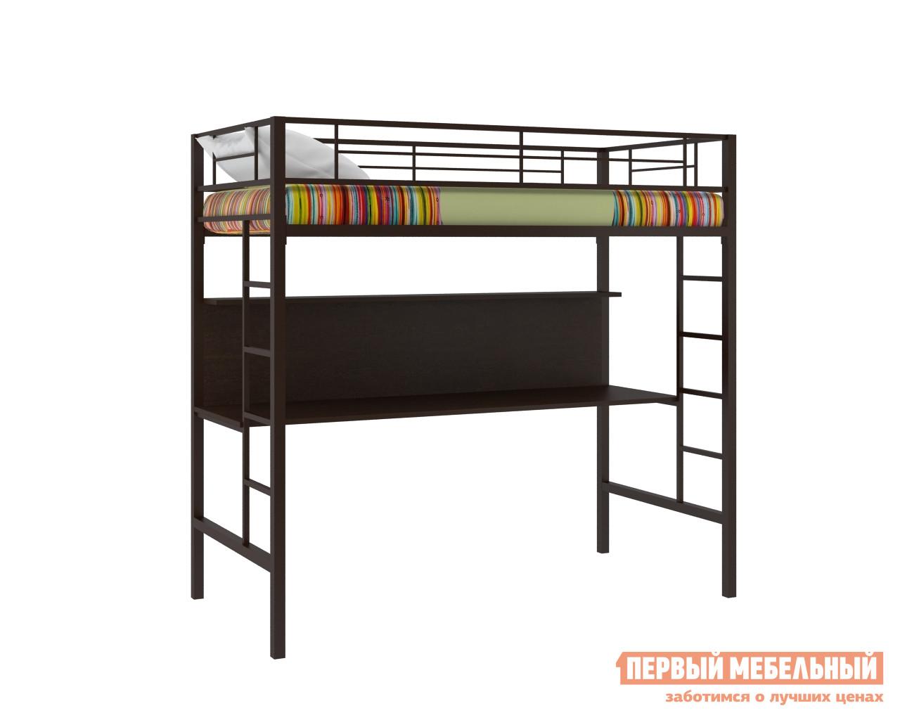 Кровать-чердак  Севилья-1 Коричневый / Венге