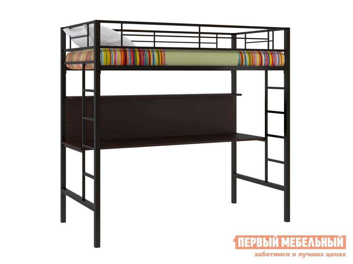 Кровать-чердак  Севилья-1 Черный / Венге