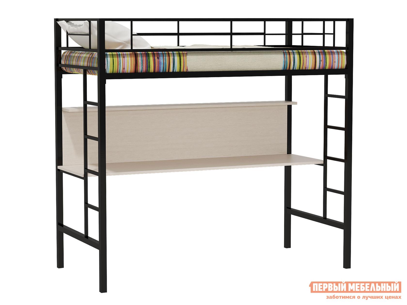 Металлическая кровать-чердак с письменным столом Redford Севилья-1 кровать чердак севилья 15