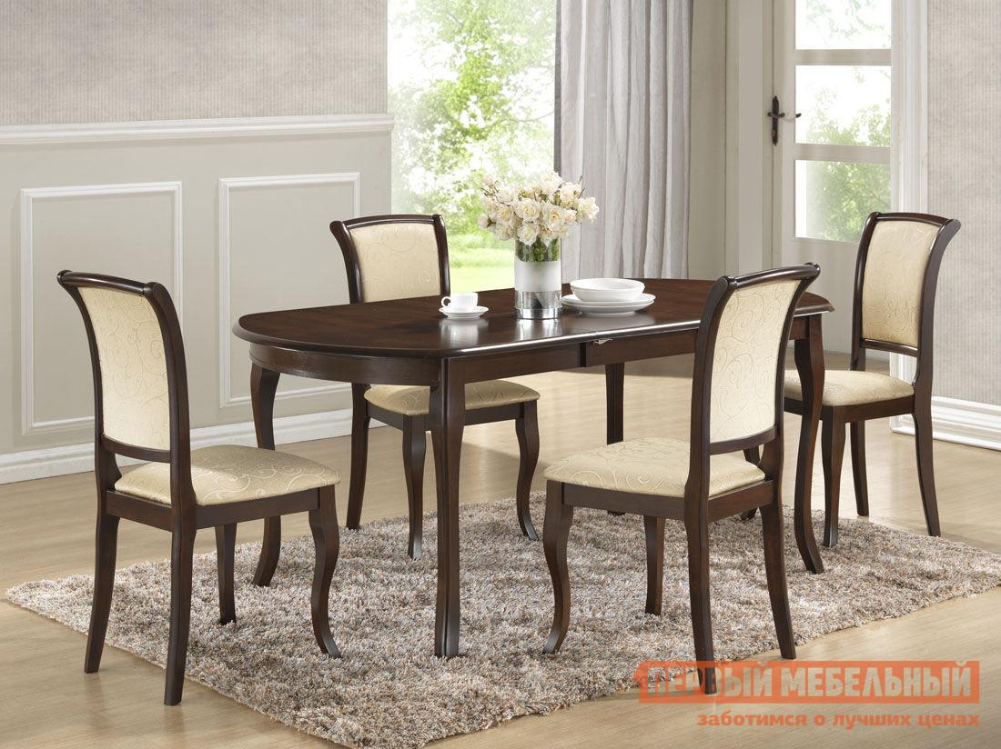 Обеденная группа для столовой Mebwill Alicante T2 AL-T2EX + 4 MN-SC обеденная группа для столовой и гостиной mebwill emperor ry t10ex2lb 8 cr sc3 walnut