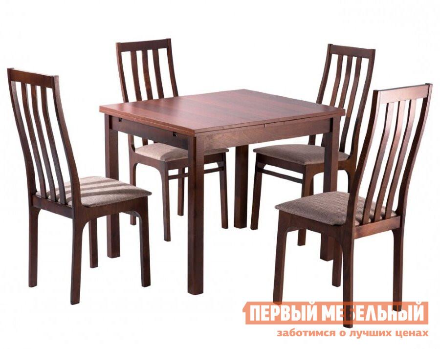 Обеденная группа для столовой и гостиной Mebwill Обеденная группа Франц Стол + 4 стула