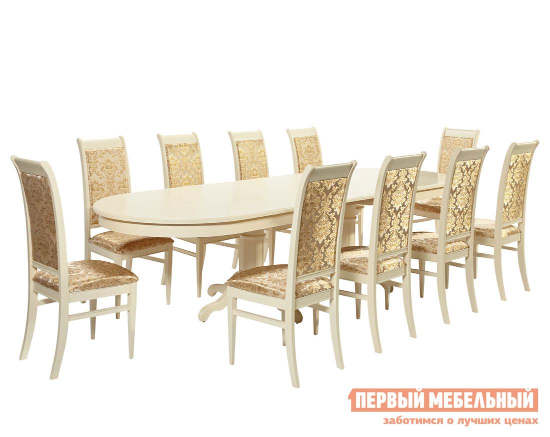 Обеденная группа для столовой и гостиной Mebwill Стол СОТ-0607+Ита-М обеденная группа для столовой и гостиной mebwill emperor ry t10ex2lb 8 cr sc3 walnut