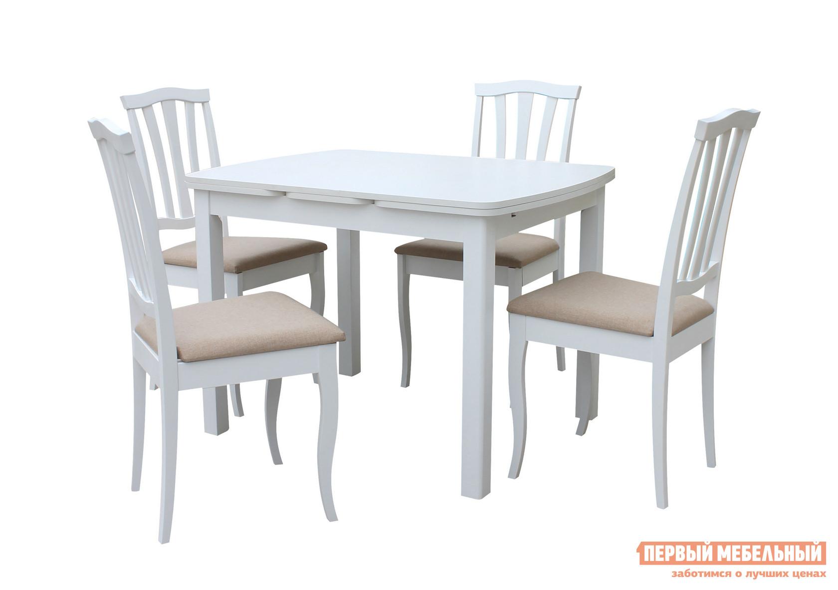 Обеденная группа для столовой и гостиной Mebwill Орлеан Сити обеденная группа для столовой и гостиной mr kim обеденная группа ra t4ex и 4 стула ra sc