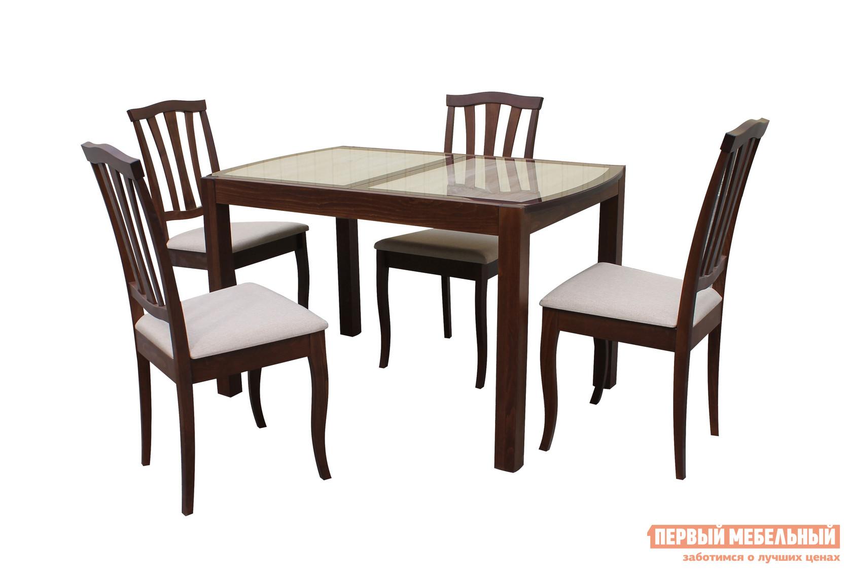 Обеденная группа для столовой и гостиной Mebwill Рига Сити обеденная группа для столовой и гостиной mr kim обеденная группа ra t4ex и 4 стула ra sc