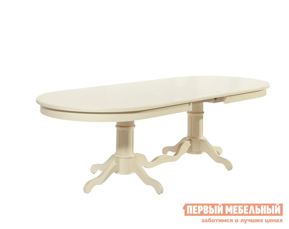 Обеденный стол Mebwill СОТ-0607 Кабриоль Бук выбеленный