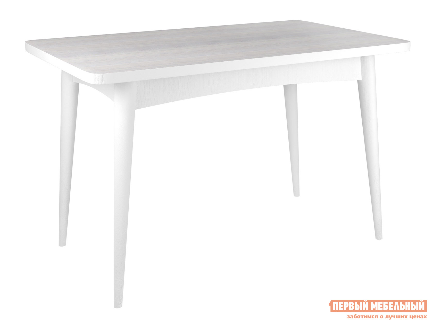 Кухонный стол  раскладной Ялта 2 Белый / Анкор светлый Mebwill 110550