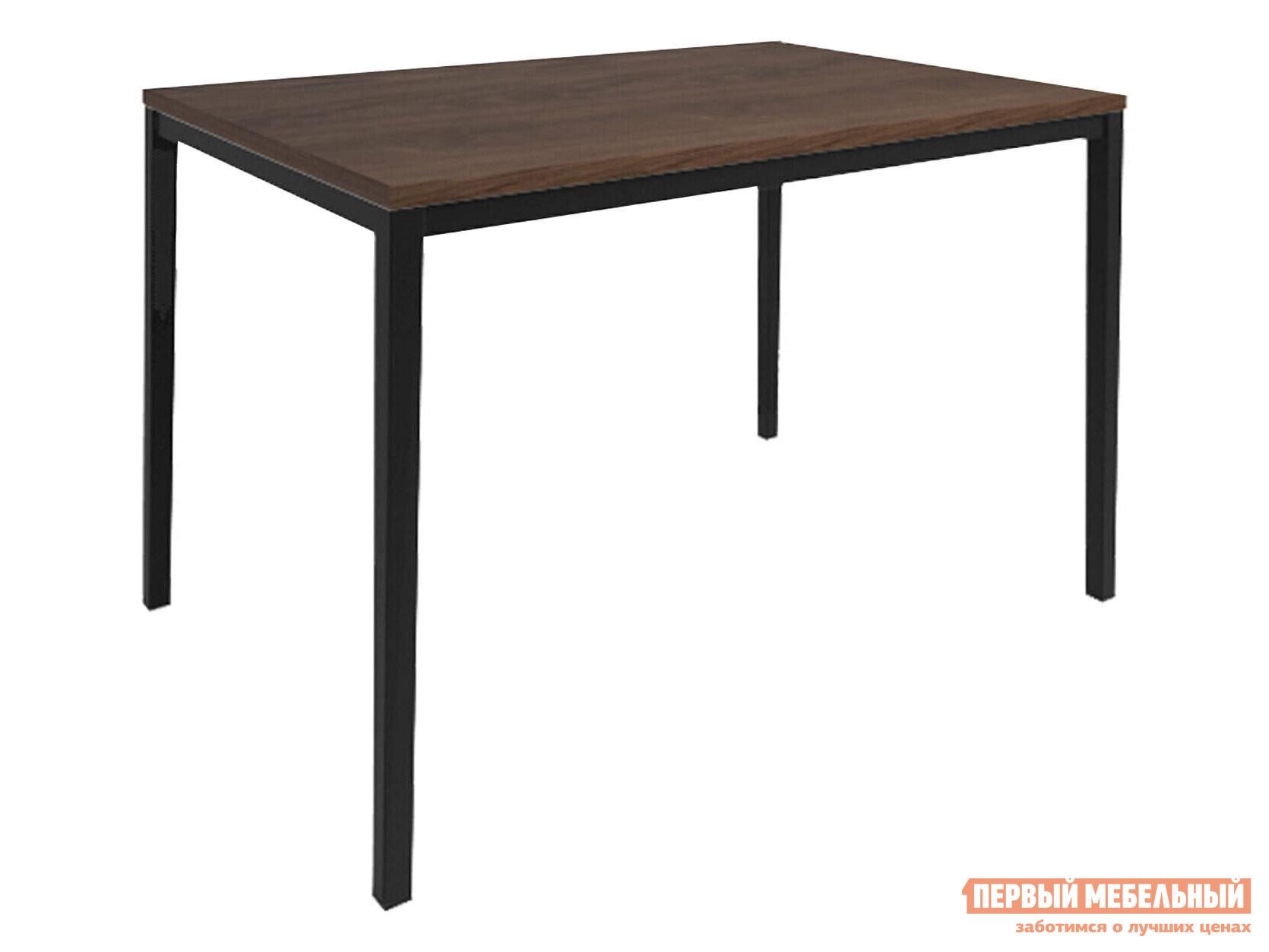 Кухонный стол  Обеденный Итан Дуб Кантри / Черный муар, металл Мебвилл 124108