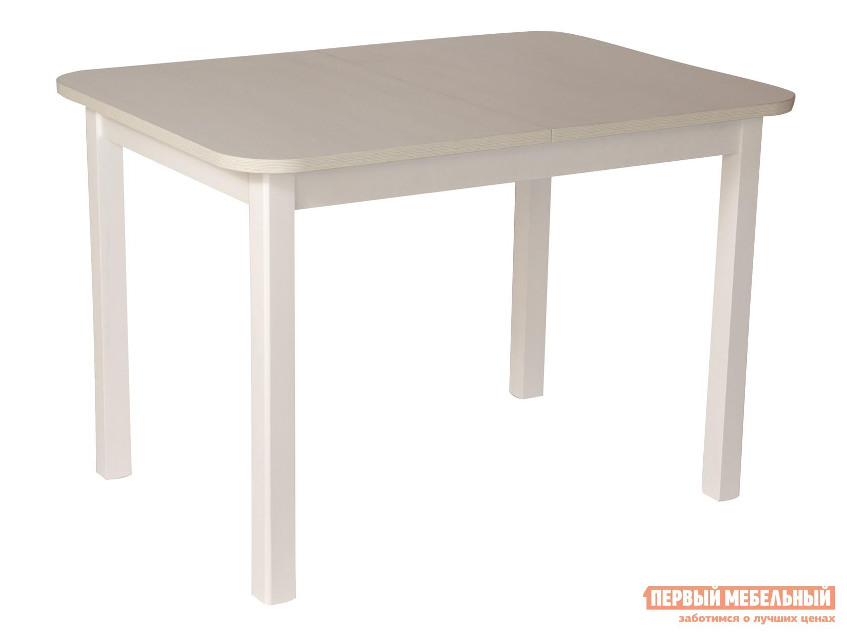 Кухонный стол  Франц Белая эмаль / Бодега белый Мебвилл 126806