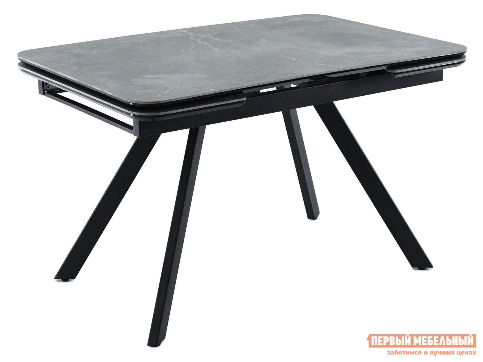 Кухонный стол  Леон Bayona grey / Черный, металл Мебвилл 126811
