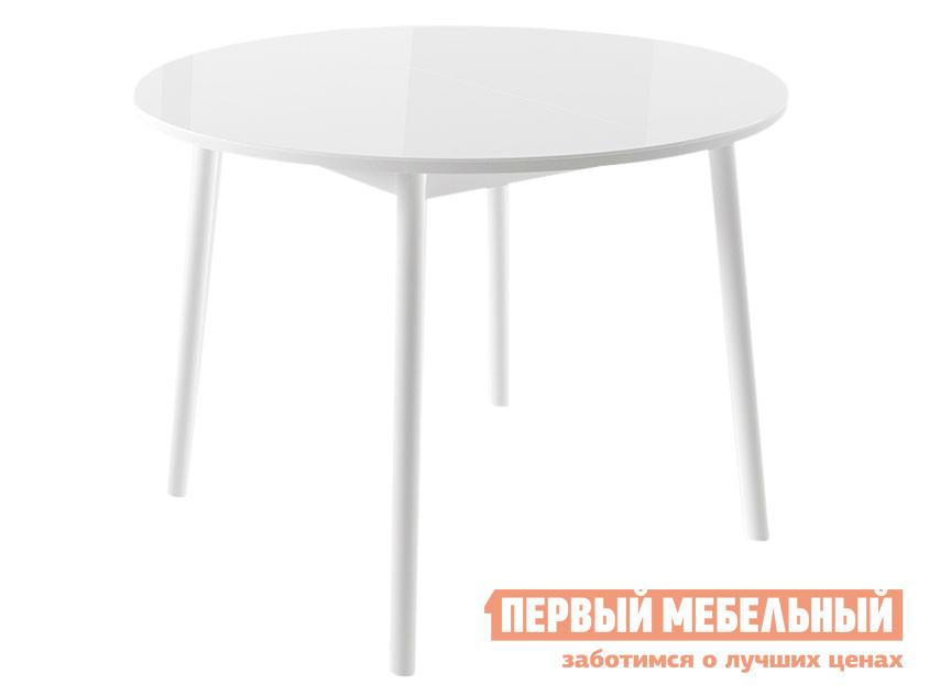 Кухонный стол  Раунд Круглый Белый Mebwill 60283