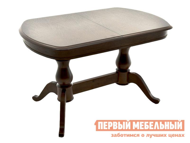Кухонный стол  Фабрицио 2М Орех темный Мебвилл 127321