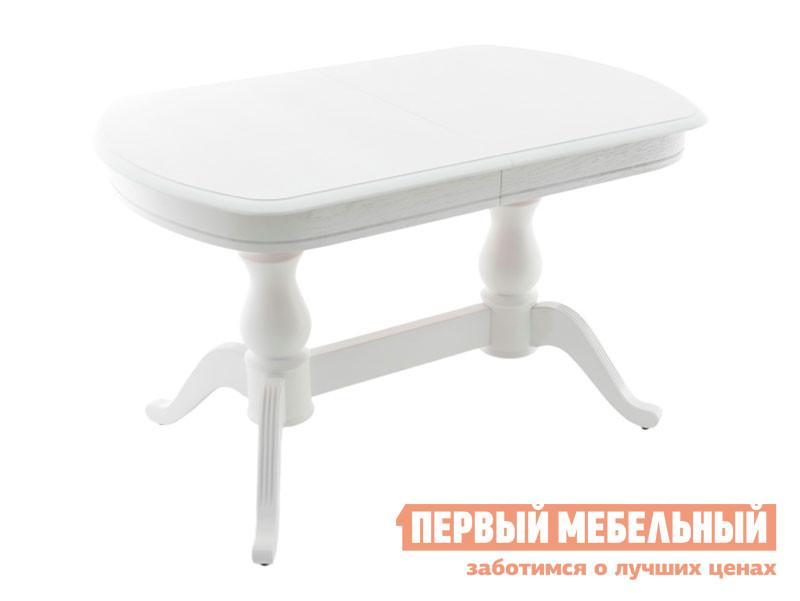 Кухонный стол  Фабрицио 2М Белая эмаль Мебвилл 127324