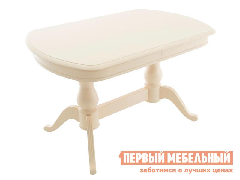 Кухонный стол  Фабрицио 2М Слоновая кость Мебвилл 127325