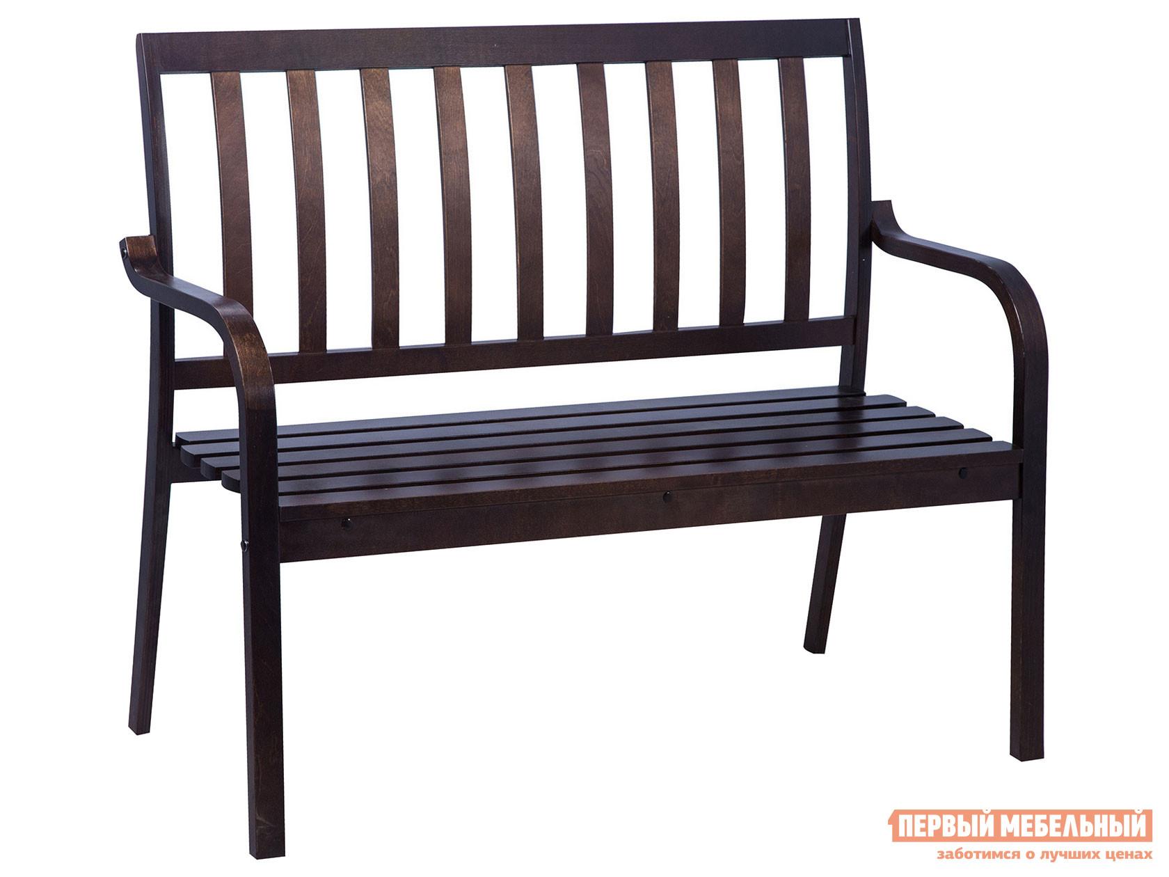 Садовый диван  Берн Дуб темный Mebwill 91729